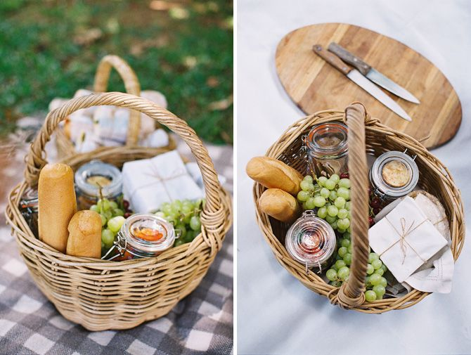 Creative Picnic Basket Ideas : Byron bay wedding your gourmet catering