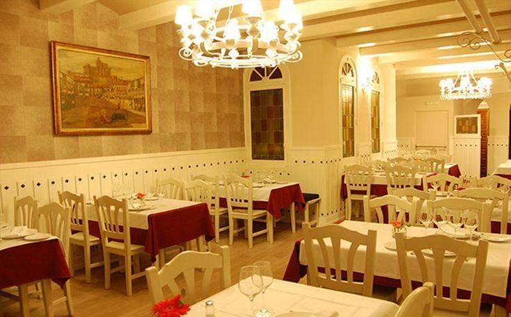 #Restaurante @LosArcosPonzano #mesdeloscallos #Madrid