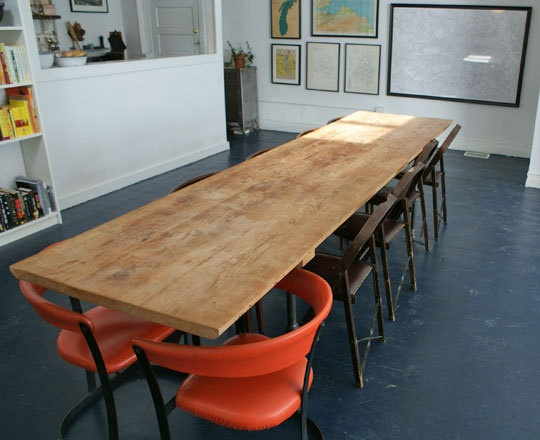 17 best ideas about long dining tables on pinterest. Black Bedroom Furniture Sets. Home Design Ideas