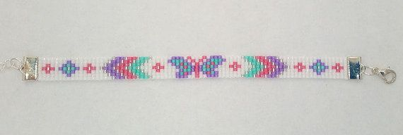 Bracelet de l'été avec papillon par SambaHandmade sur Etsy