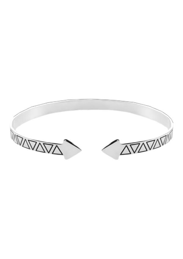 Escrava Omnia Aztec em prata 925