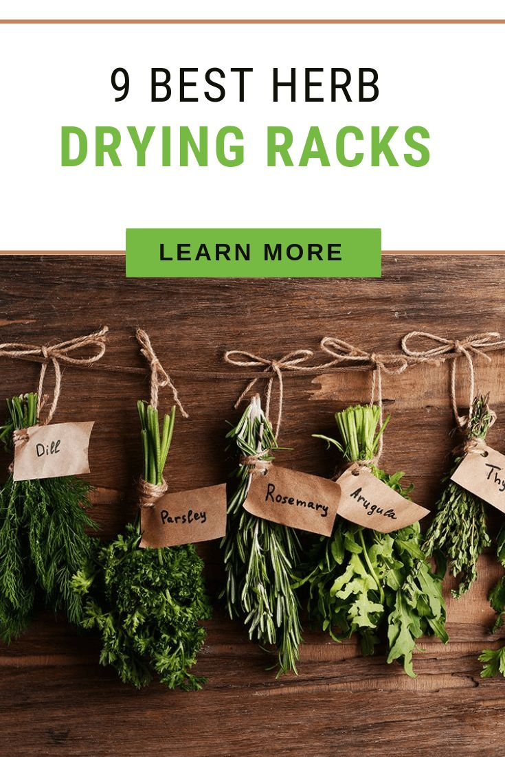 diy drying rack for herbs
