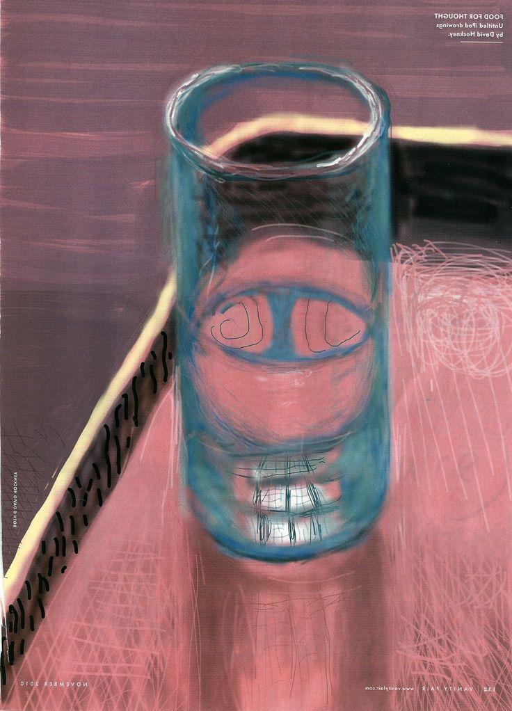 Hockney's interest in representing water David Hockney iPad paintings http://anonimodelapiedra.blogspot.com.es