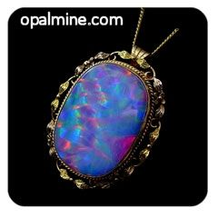 opal pendant: Amazing matching antique hand made opal set. The pendant/brooch is featured here.