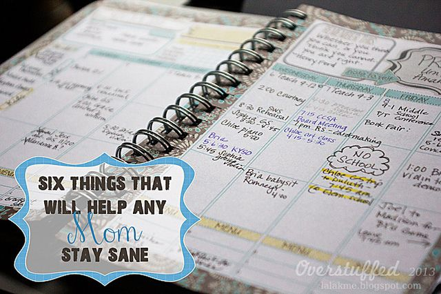 Six Things That Will Help Any Mom Stay Sane