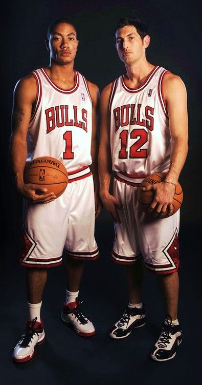 amigos back together again - kirk hinrich and derrick rose