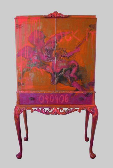 51 mejores im genes sobre muebles pintados a mano en - Muebles pintados a mano fotos ...