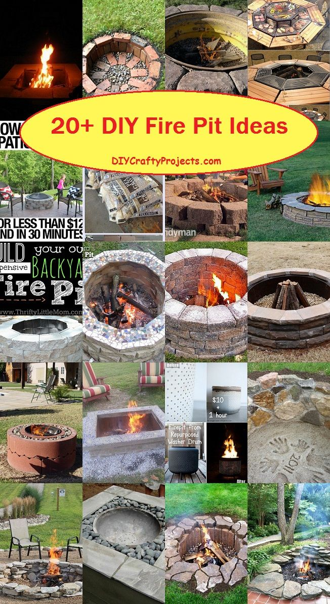 20+ DIY Fire Pit Ideas 2