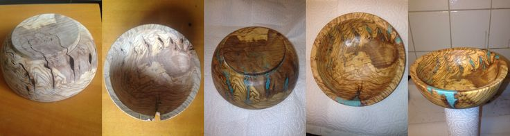 Bowl Stone inlay (Taş dolgulu kase )