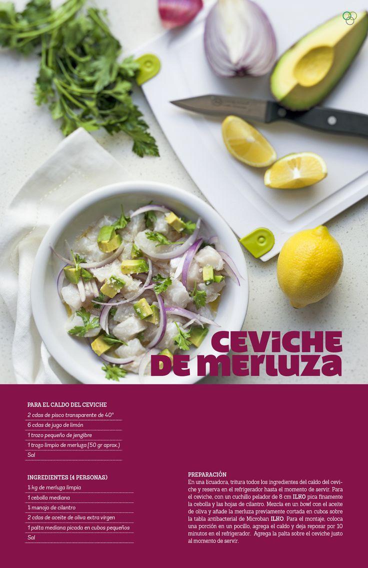 Ceviche de merluza / IMG Araceli Paz #Ilko #ceviche