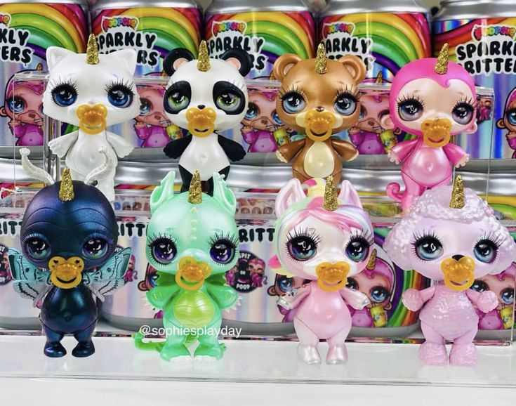 Poopsie Sparkly Critters My Daughter Wants These So Bad