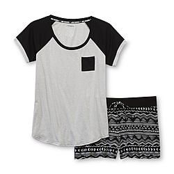Joe Boxer Women's Pajama Shirt & Shorts - Tribal - Clothing - Intimates - Sleepwear & Robes
