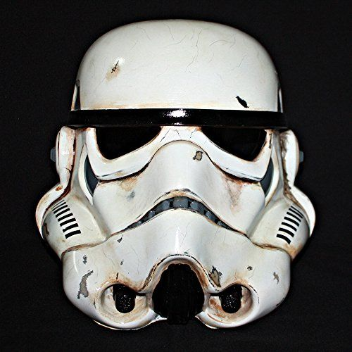 Buy 1:1 Custom Halloween Costume Cosplay Prop Star Wars Stormtrooper Helmet Mask MA198  **    Imported** **    On sale at $299 from $339 and free shipping !!! We have sold more than 5000 masks in 4 years.** **    Material : Made from high Fiberglass !!!** **    1:1 full scale replica helmet. Free size everyone can wear.** **    Estimate delivery time is around 14-25 days. Ship by registered Thai Airmail.** **    Painted in fully hand accomplished by skillful professionals. It's ready to…