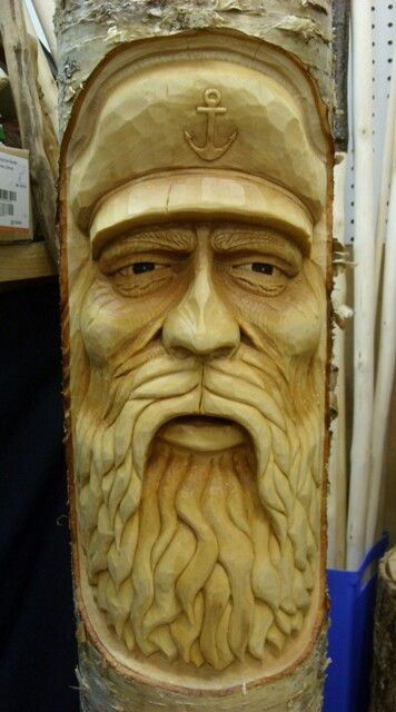 Best faces images on pinterest woodcarving carved
