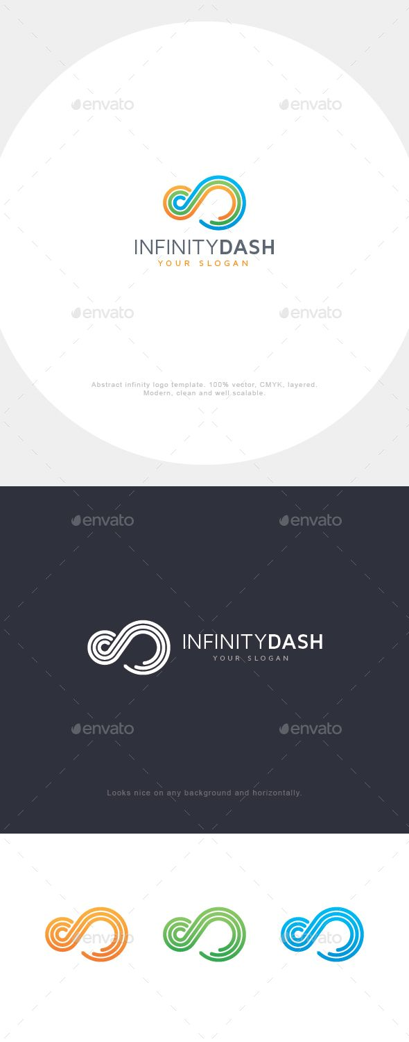Infinity Lines EPS Logo  Template • Only available here ➝ http://graphicriver.net/item/infinity-lines-logo/16716912?ref=pxcr