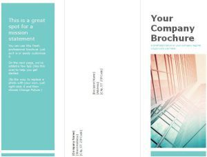 Best Free Tri Fold Brochure Templates Images On Pinterest - Fold brochure template