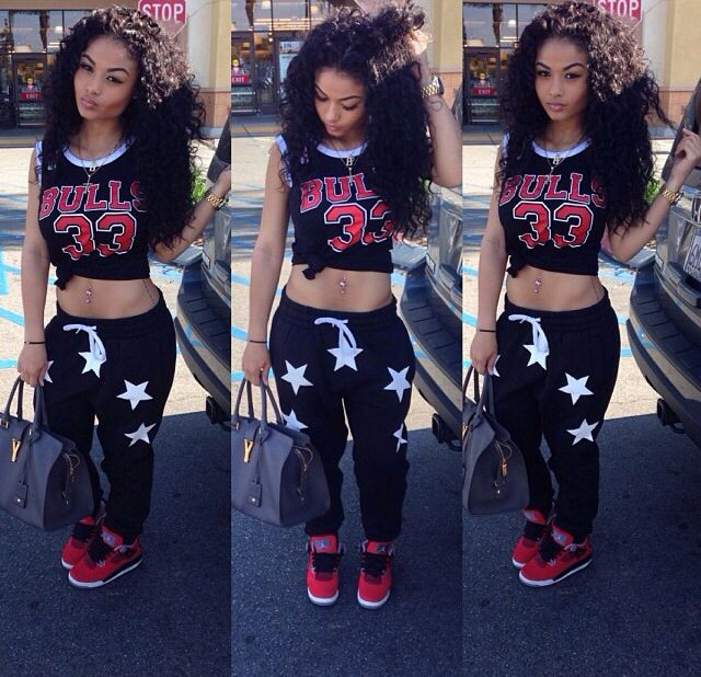 Outfit, curly hair   #PrettyGang   Pinterest   Follow me ...