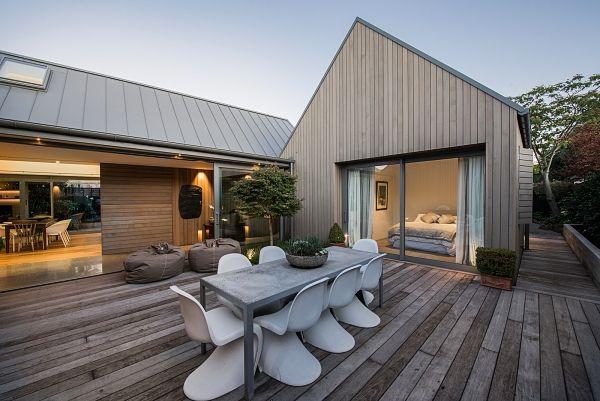 World of Design: Четыре объёма одного дома в Новой Зеландии