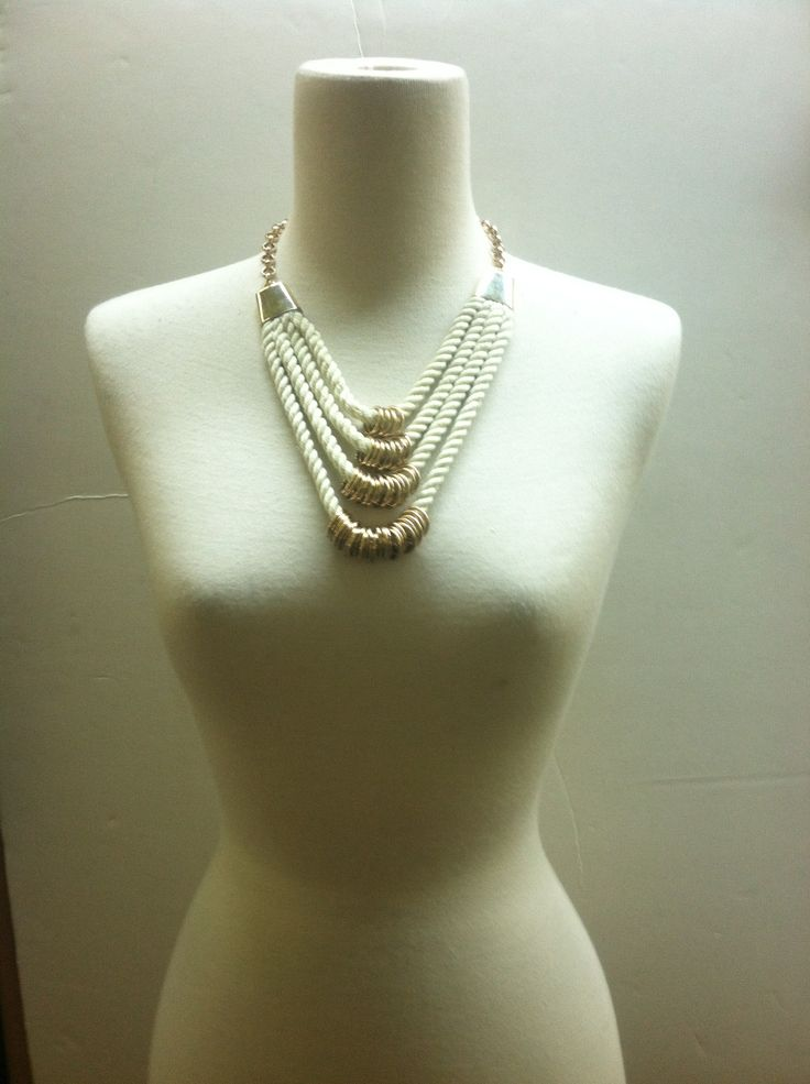 Rope Necklace by Sissy Escadav