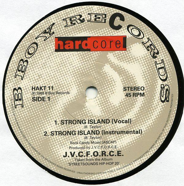 "J.V.C. F.O.R.C.E. / Levi 167 - Strong Island / Something Fresh To Swing To: compra 12"" su robxrecords.it"