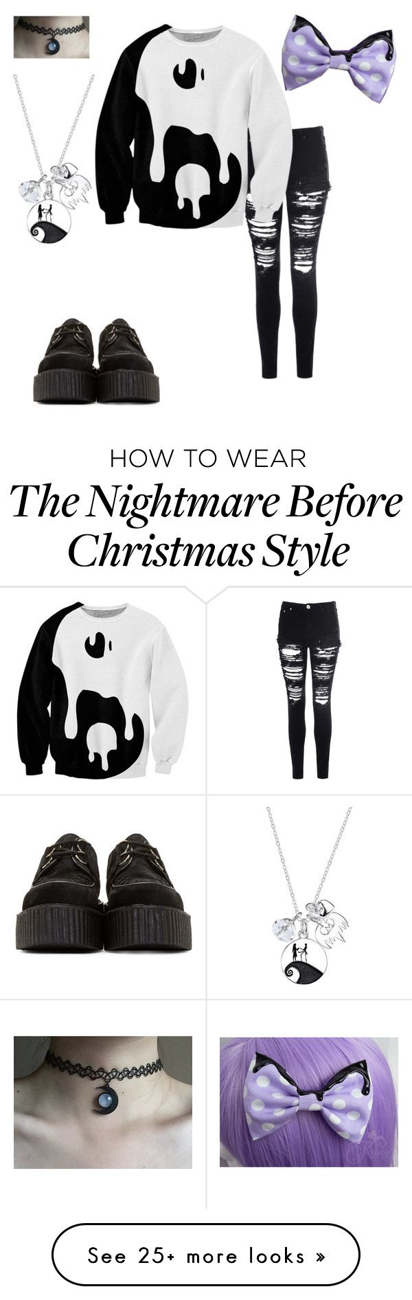 """""""Untitled #61"""" by rawr-the-dinosaur on Polyvore featuring Glamorous, Underground and Disney"""