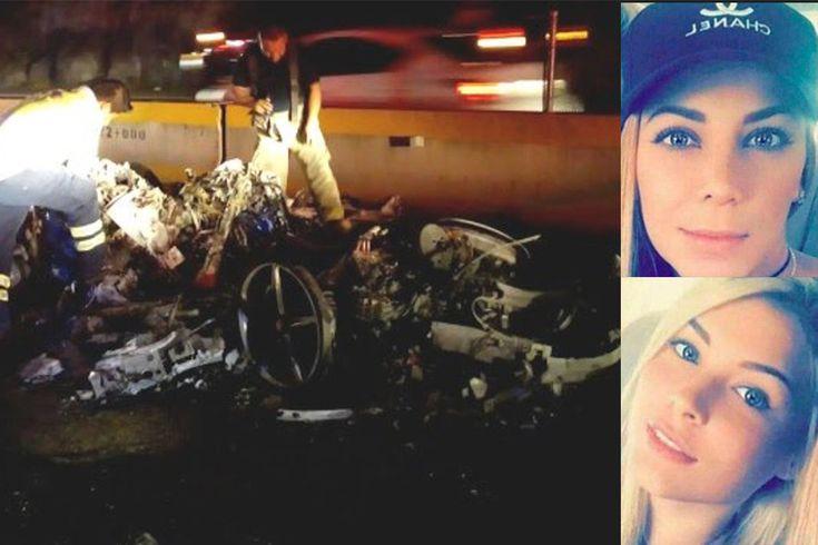 Lo que se sabe del choque de un Ferrari en México donde murieron dos colombianas - El Heraldo (Colombia)