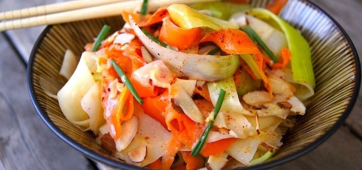 "Coconut-Lime ""Pasta"" (It's Made With Veggies!) - mindbodygreen.com"
