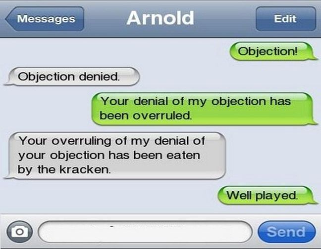 Very Funny Text Messages 8