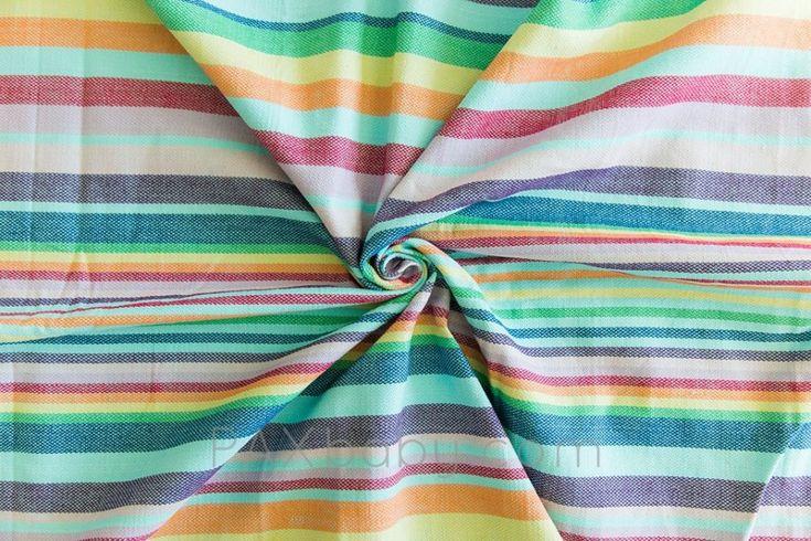 Girasol small stripe Mathilda's Rainbow Tinte Azul Wrap Image