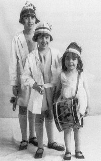 "The Gumm Sisters  (Susie, Jimmie, Baby), ca. 1924  ""Baby"" Francis before she was known as Judy Garland"
