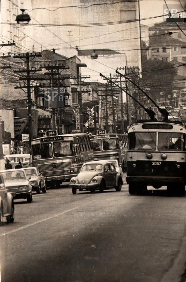 Rua Voluntários da Pátria em 1973