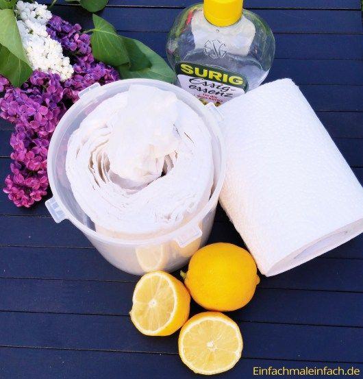 DIY Feuchttücher – Putz-, Baby- und waschbare Variante
