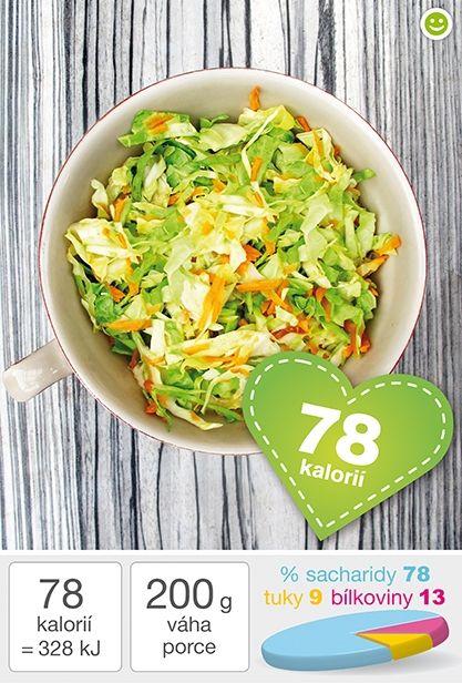 Zelný salát s mrkví - DIETA.CZ