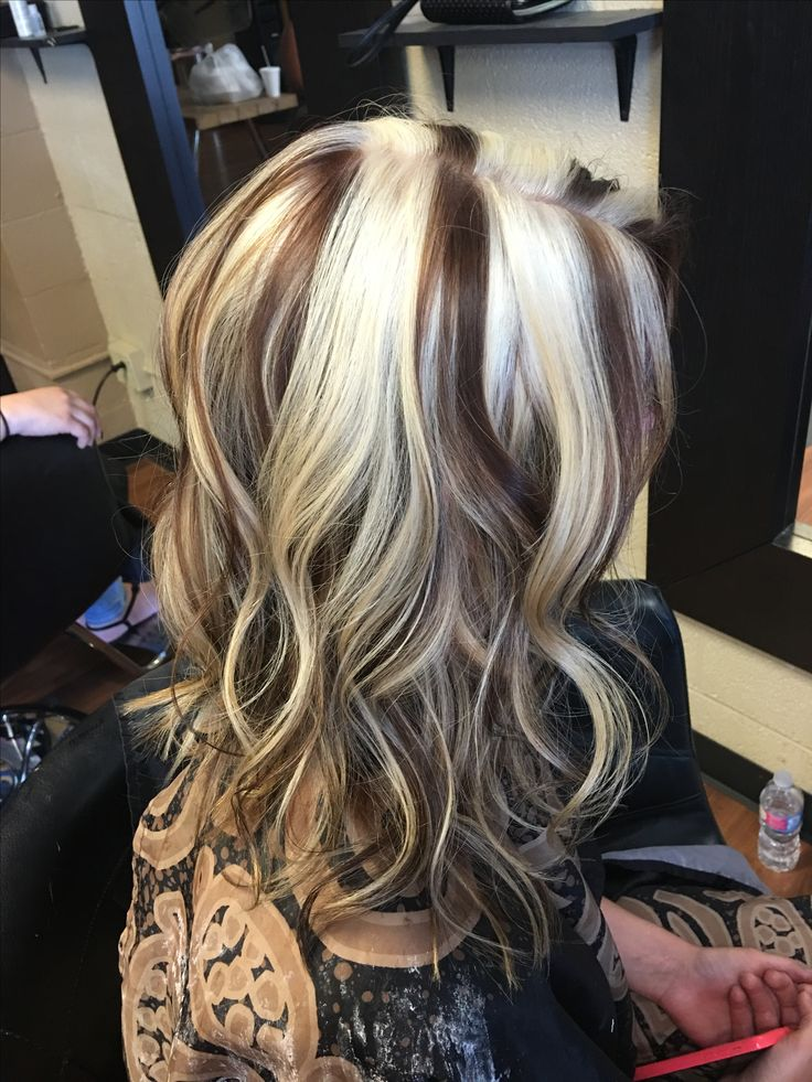 17 Best Ideas About Chunky Blonde Highlights On Pinterest