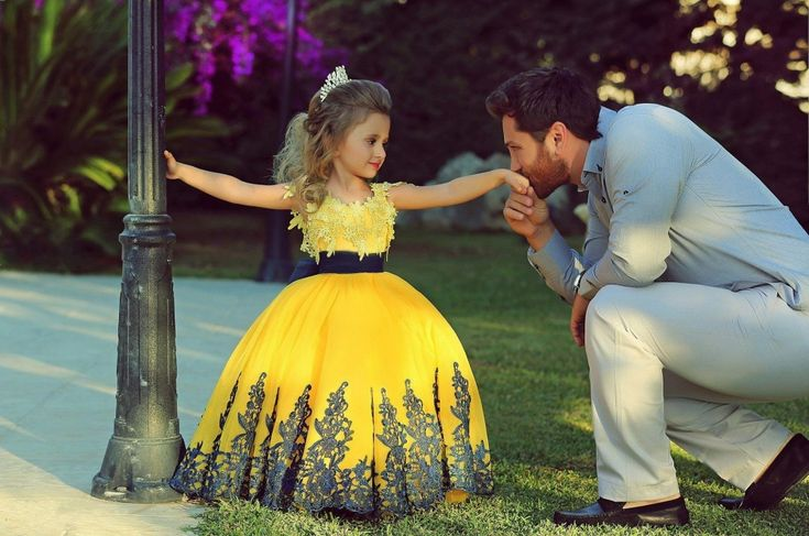 Children are the best antidote to sadness — always. ~ Dads and their daughters <3