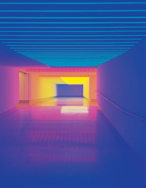 colour block contrast art fluorescent neon light Google Image Result for http://www.munichre.com/corporate-art/en/collection/artworks-images/Sonnier_1.jpg