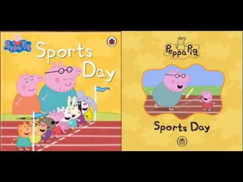 Peppa Pig   Sports Day - tieng Anh cho tre em