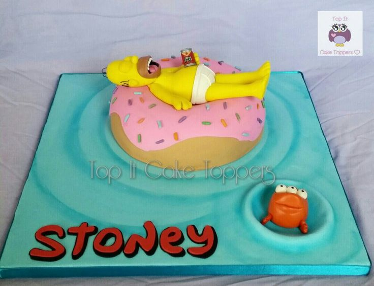 The Simpsons Cake - Homer