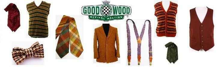 Mens Goodwood Revival clothing and accessories at Tweedmans Vintage. #goodwoodrevival