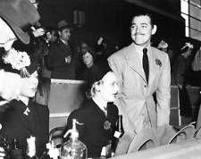 Old Photo.   Carole Lombard & Clark Gable - Hollywood