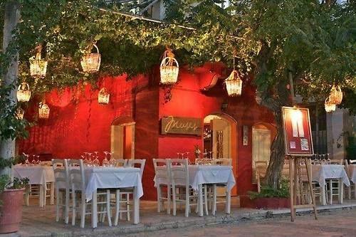 "Tavern ""Muses"" Symi island"