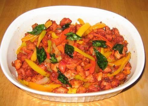 Indian Recipes - Chilli Chicken