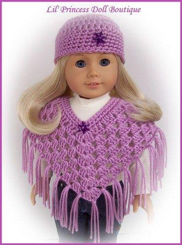Crochet Amigurumi Pattern Hello Kitty Strawberry Hoolaloop : Doll Clothes Fit 18