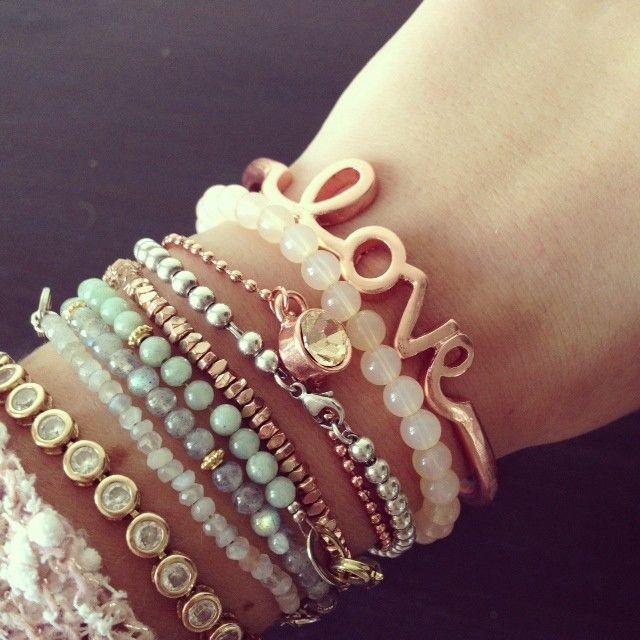 Love bracelet rose - Sieraden