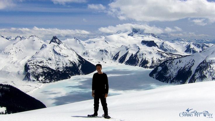 On Panorama Ridge above Garibaldi Lake