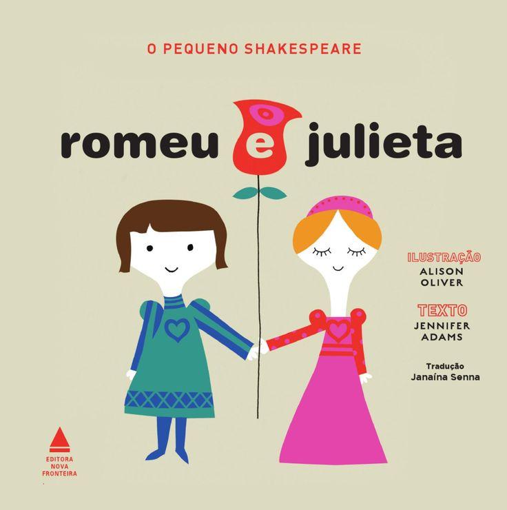 Pequeno shakespeare romeu e julieta