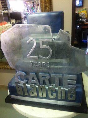 Carte Blanche 25th Birthday designer cake by Annica's