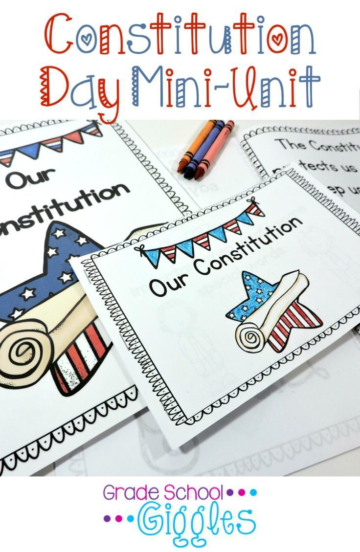 "This book and activities are designed to be used to introduce young students to the Constitution in age appropriate language. It is appropriate for Constitution Day or for any social studies unit on the Constitution. The book, ""Our Constitution"" explains the Constitution in terms young students can understand."