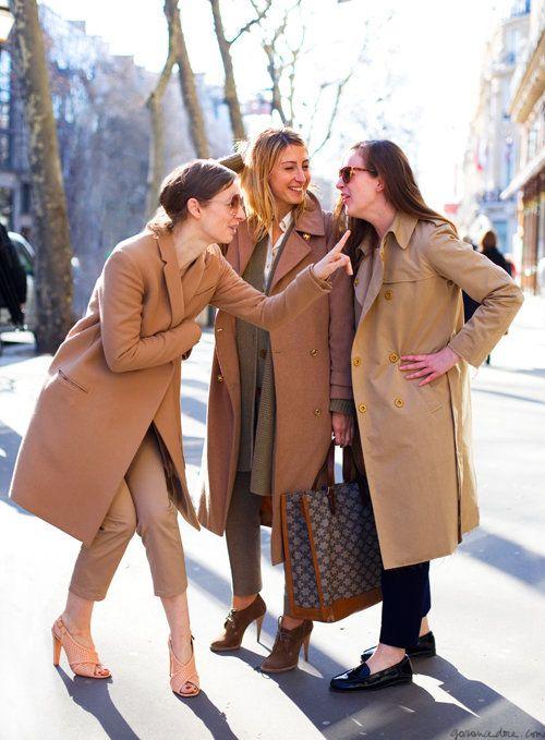 Beige Coats