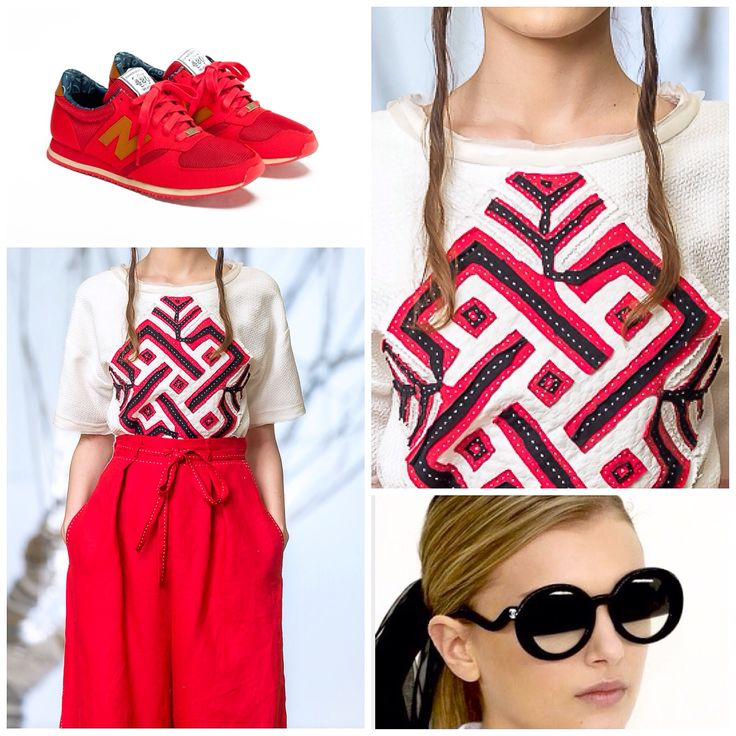 Contemporary Design, Tradition, Ancestral Symbols, Red